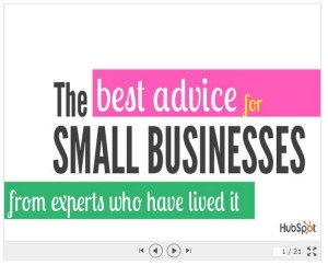 hubspot small biz advice