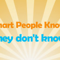 Smart People Don't Know